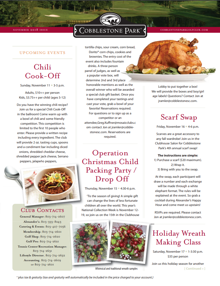 CBP Newsletter November
